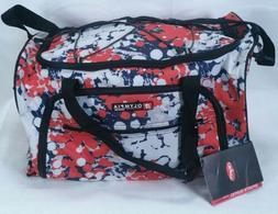 Olympia 21'' Sport Duffel Gym Travel Bag Ink Blots Adjustabl