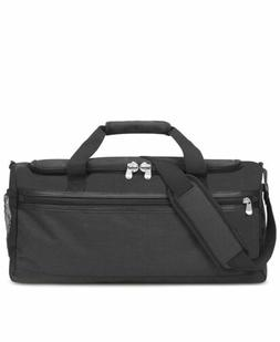 $210 SOLO Men's BLACK TRAVEL DUFFLE CONVERTIBLE SUIT DUFFEL