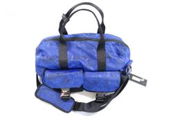 2XIST 31L100D11SZ CAMO MILITARY BLUE DOME DUFFLE BAG MENS DE