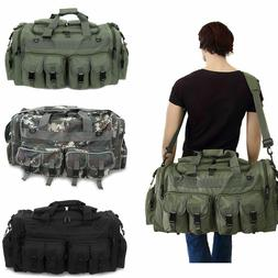 "30"" Large Men Duffle Bag Military Molle Tactical Cargo Gea"
