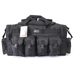 "30"" NexPak Tactical Duffel Range Gear Bag TF130 BK Black Spo"