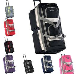 Olympia 8 Pocket Rolling Travel Vacation Airport Security Sa