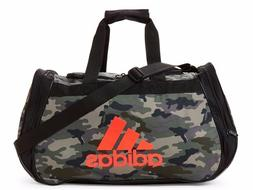 ADIDAS Diablo SMALL Duffel Bag BLACK PINK ZIP TOP Sports Gym