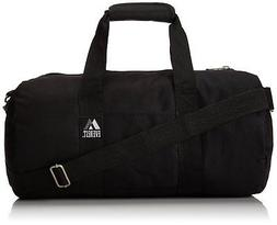 Everest 16-Inch Round Duffel, Black, One Size