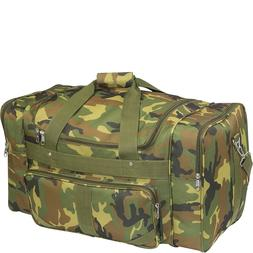 Everest Woodland Large Camo Duffel Bag - Camouflage