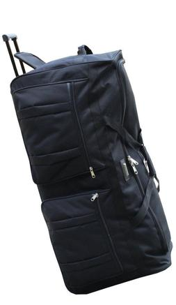 Editorial Pick Gothamite 42-inch Rolling Duffle Bag with Wheels  b35fdfa22e1dc
