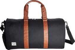 Herschel Supply Co. Novel Mid-Volume, Black/Tan Synthetic Le