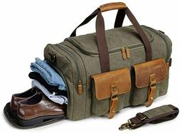 2f9553d11 Kemy's Canvas Duffle Bag Mens Oversized Overnight Bags for M