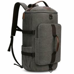 Large Canvas Backpack, Yousu Man Vintage Backpack Rucksack O