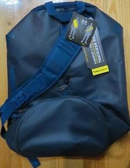 NEW UNDER ARMOUR STORM DARK BLUE ISOLATE DUFFEL BAG WATER RE