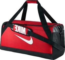 Nike Brasilia 7 MEDIUM Duffel Bag Gym Travel BA5334 657 Red