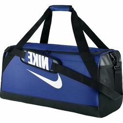 Nike Brasilia 7 Medium Duffel Bag BA5334-480 New Blue/Black