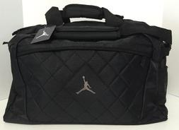 Nike Jordan Jumpman Logo Black Medium Duffle Duffel Bag Lugg