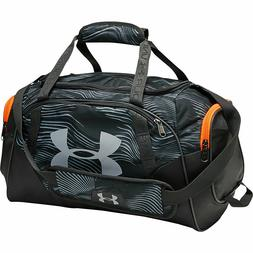 Under Armour Undeniable 3.0 Duffle Bag BLACK Gray Red Storm