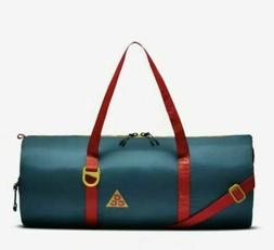 Nike ACG Packable Duffel Bag Geode Teal Spruce Habanero Red