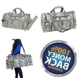 Travel ACU Duffel Bag Camouflage Duffle Gym Bag, Luggage, To
