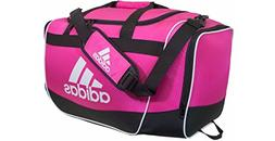 adidas Defender II Medium Duffel Bag, Medium, Shock Pink