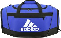 adidas Defender III Duffel Bag, Blue/Black/White, Large