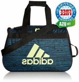 adidas Diablo Duffel Bag, Bright Cyan Subdued/Black/Frozen Y