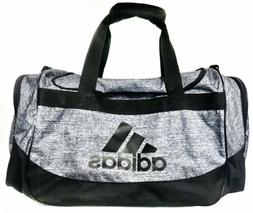 Adidas Defender III Duffel Gym Bag Medium, Onix Jersey/Black
