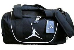 Nike Air Jordan Duffel Gym Bag in Black and White 9A1498-210