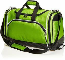 AmazonBasics Lightweight Durable Sports Duffel Gym and Overn