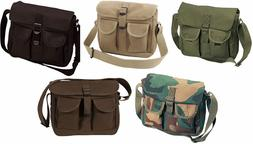 5aa0f6536 Editorial Pick Ammo Shoulder Bag Tote Canvas Heavy Weight Military Rothco