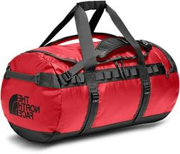 base camp duffle tnf red black