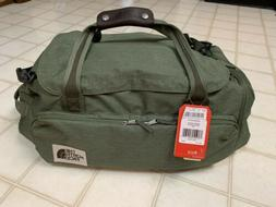 The North Face Berkeley Duffel Medium Size Taupe Green New!