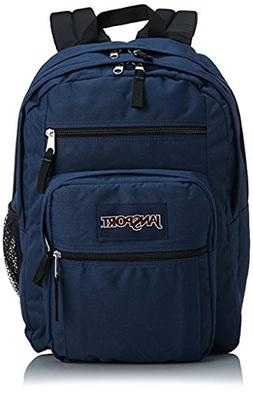 JanSport Big Student Backpack--Navy