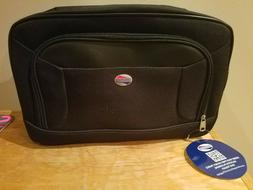 BLACK American Tourister Luggage Tote Bag Carry on Duffle Ba