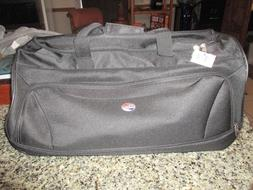 Brand New  American Tourister Luggage Wheeled Duffel Bag  Bl