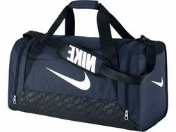 Nike Brasilia 6 MEDIUM Duffel Bag BA4829 401 Gym Travel Navy
