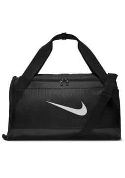 Nike Brasilia Small Duffel Bag Sports Gym Soccer Football Bl