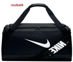 "Nike Brasilia MEDIUM Training Duffel Bag ""Black"" - Brand New"