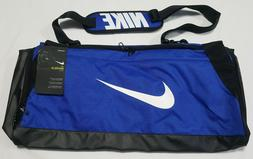 NIKE Brasilia Medium Training Duffel Bag  Blue Black White B
