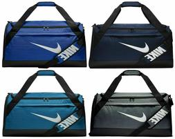 Nike BRASILIA Training Medium Duffel Gym Bag - BA5334 Gray B