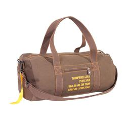 Brown Canvas Equipment Bag