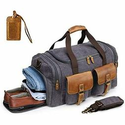 614222fe1 Editorial Pick Kemy's Canvas Duffle Bag Mens Oversized Overnight Bags for M