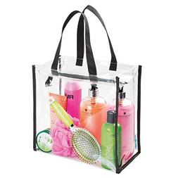 Clear Tote Bag Transparent Shoulder Bag PVC Beach Handbag Wo