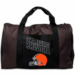 Cleveland Browns Duffel Bag Gym Bag Overnight Bag 18x12x8 NF