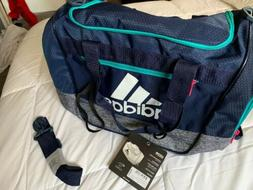 🔥 adidas Defender III Small Duffel Gym School Book Bag Wo