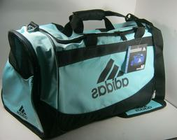 "ADIDAS DEFENSE MEDIUM Duffel Sport Gym Bag 24"" TOP ZIP NEW N"
