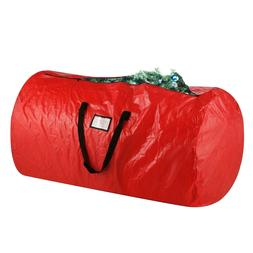 Elf Stor Deluxe Red Holiday Christmas Tree Storage Bag XLarg
