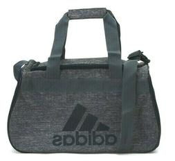 ADIDAS Diablo Duffel Bag GRAY LIME TOP ZIP CLOSURE FIT Gym L