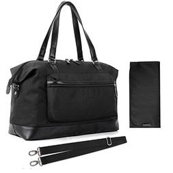 mommore Large Diaper Tote Bag Travel Duffel Bag for Mom and