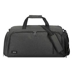 SOLO Downtown Travel Highline Duffel - Gray Travel Duffel NE