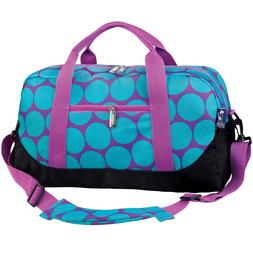 Wildkin Duffel Bag - Aqua Big Dots