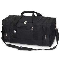 """""""EVEREST"""" Duffel Bag Spacious Sporty Zippered Clam-Shell"""