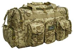 "Mens 22"" Duffel Duffle Military Molle Tactical Gear Shoulder"